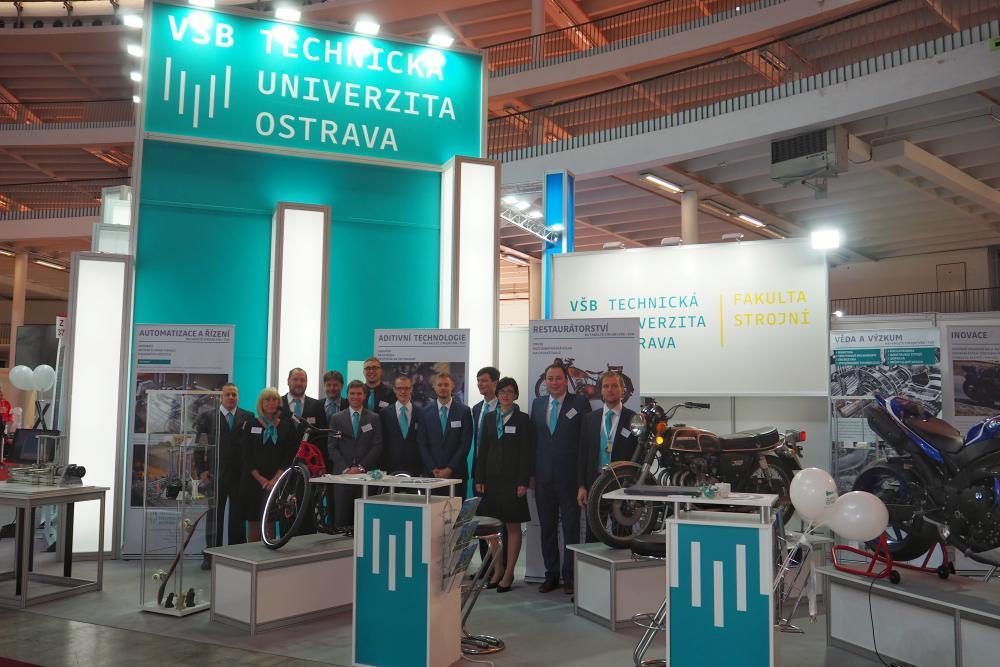 Fakulta strojní na Mezinárodním strojírenském veletrhu 2021