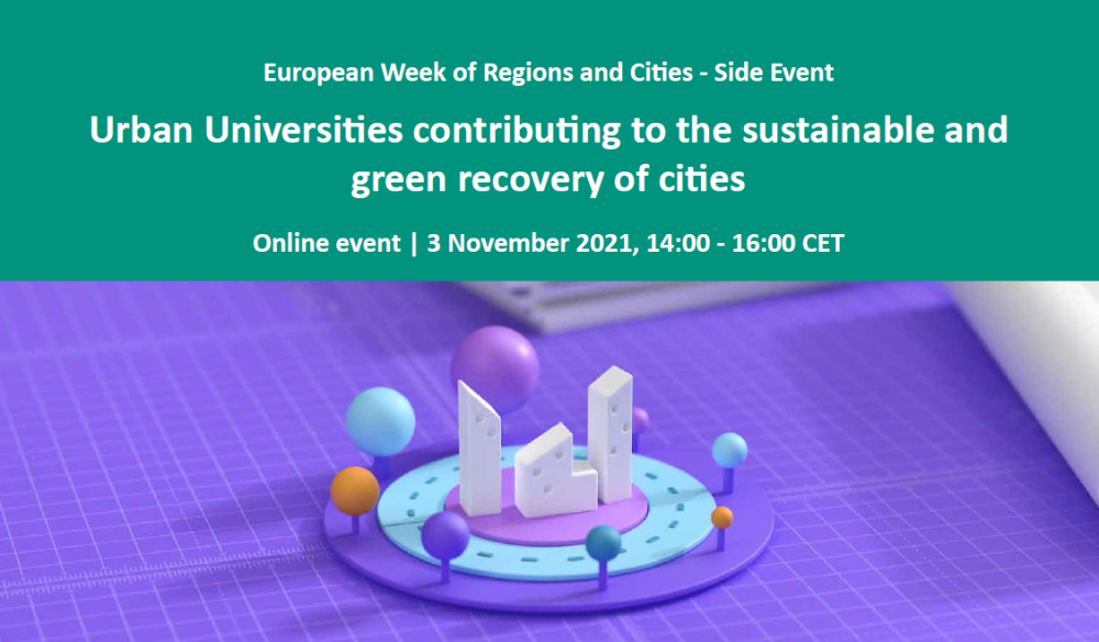 Urban Universities contributing to a sustainable and green recovery of cities